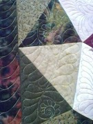 mosic tile close up quilting 1