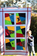Jonah & Seby's Spiderman Quilts