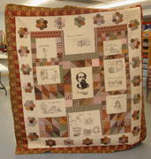 Charles Dickens Quilt