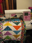 Quilt #151 - Let Me Teach You Some Basic Quilt Blocks, Becky