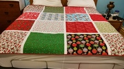 Wiese Family Christmas Quilt 2018