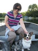 Lulu went fishing!