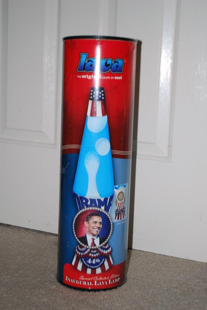Obama lamp          ( never opened )