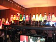 rainbow of blurry motion...