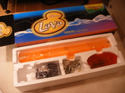 Orange Lava Brand Wave Machine BNIB