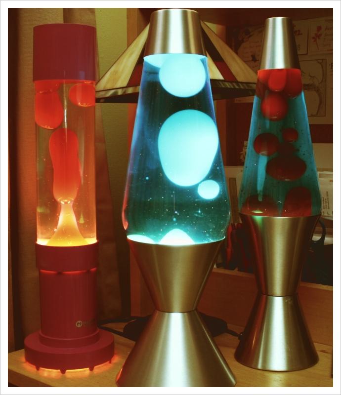 Lava Lamp Trio