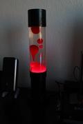 My Red Mathmos Jet Lamp