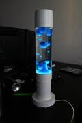 My Electric Blue Mathmos Jet Lamp