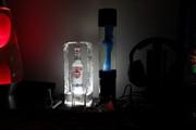 My Blue Mathmos Jet Lamp (After fix)