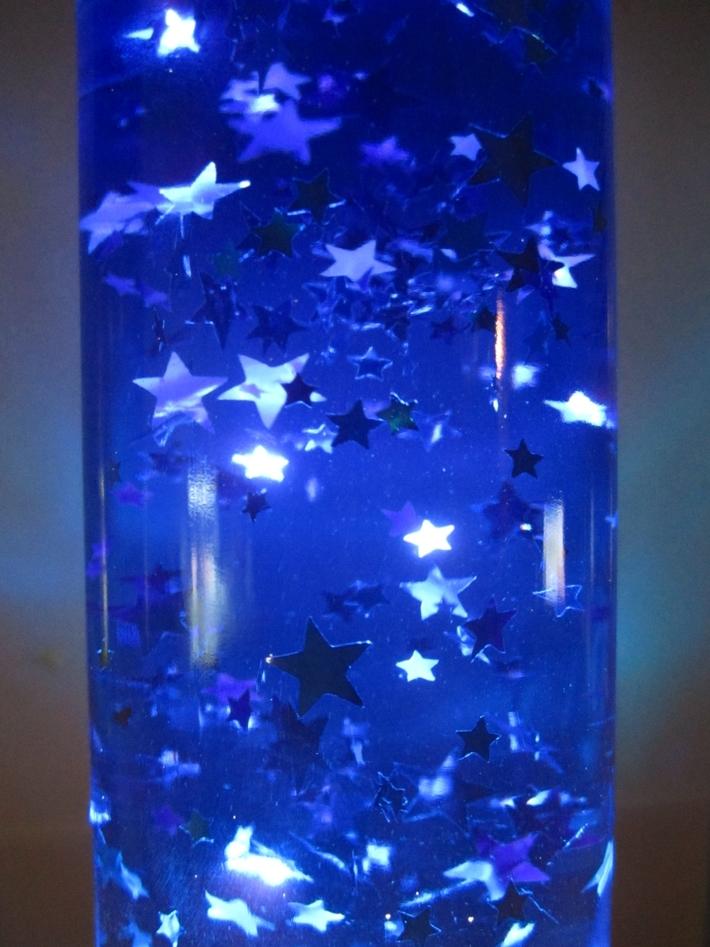 Cobalt Blue Stars Cut Glitter for GT!