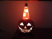 Pumpkin Lava Lamp