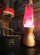 "Mathmos 50th Anniversary Lamp and ""Friend"""