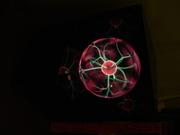 Larry Albright plasma globe on (full intensity)