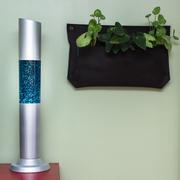 Glitter Excalibur Lamp