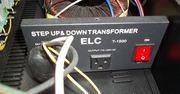 USA 110-120v AC up converter to 240 v AC UK