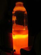 "Weird ""Orange Juice"" lava lamp"