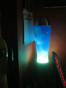 Giant Lava lamp flowing