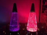 Glitter Lamps