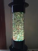 Restored Russian Sputnik Glitter Lamp