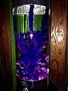 Lunar with Purple/Clear Bottle