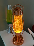 Crestworth Lantern with Yellow-strand glitter
