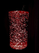 Glitter Baby Lunar with Red Bulb