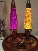 Mathmos Neo Glitters Gold and Purple