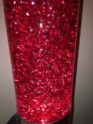 Mathmos Lunar Glitter red/red