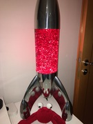 Mathmos Lunar with Original Glitter Red/Red