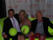 w/Patrick McEnroe & Bud Collins