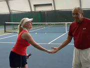 with Nick Bollettieri - May 22, 2013