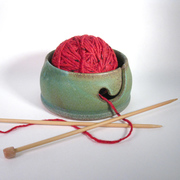 Lichen Yarn Bowl