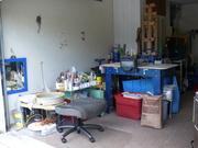 Nadine's tiny studio