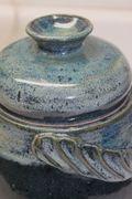 Bridges Pottery Blue Jar