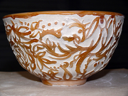 small relief  bowl