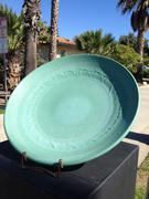 Large Weathered Bronze platter