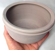 Bowl with Channel Rim #BridgesPottery