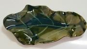 Leaf shaped platter