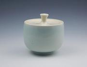 Celadon Sugar Jar