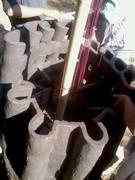 fire sculpture in making 2
