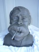 Jacques Brel caricature
