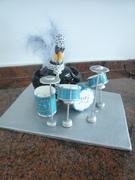 poulet musicien  Chicken musician