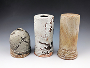 Experiments with slip,glaze and surface decoration.