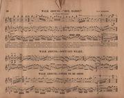 Minstrel Tunes in Howe's Books