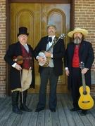 Roscoe, Lee & Abadie at HIstoric Washington, Arkansas - November 2010