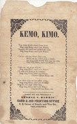 Kemo, Kimo
