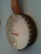 Fretless Menzies Tackhead banjo (pot)