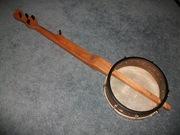 Rear view of Sweeney Banjo