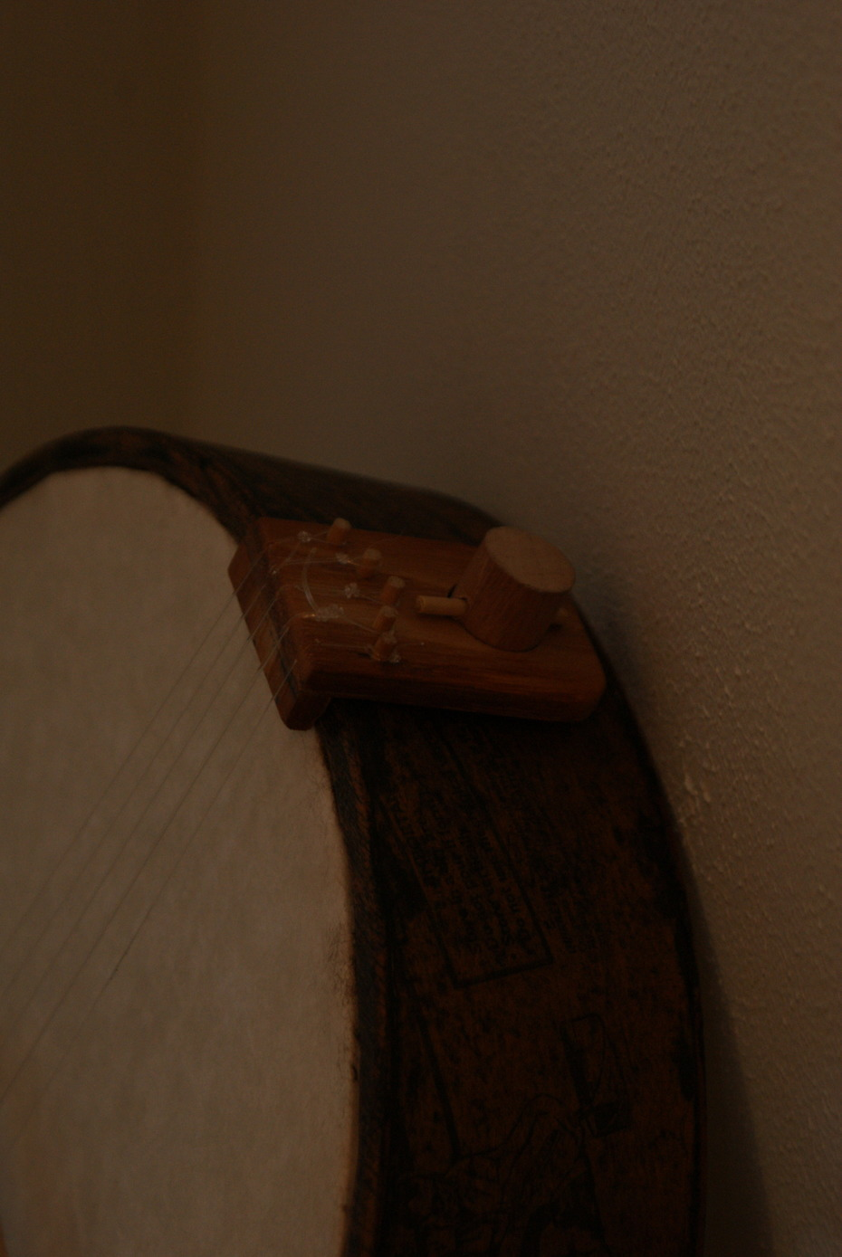 wooden tailpiece view 2