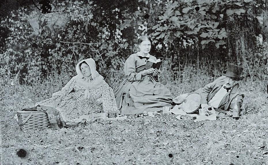 Masciale Family Picnic  - Ambrotype